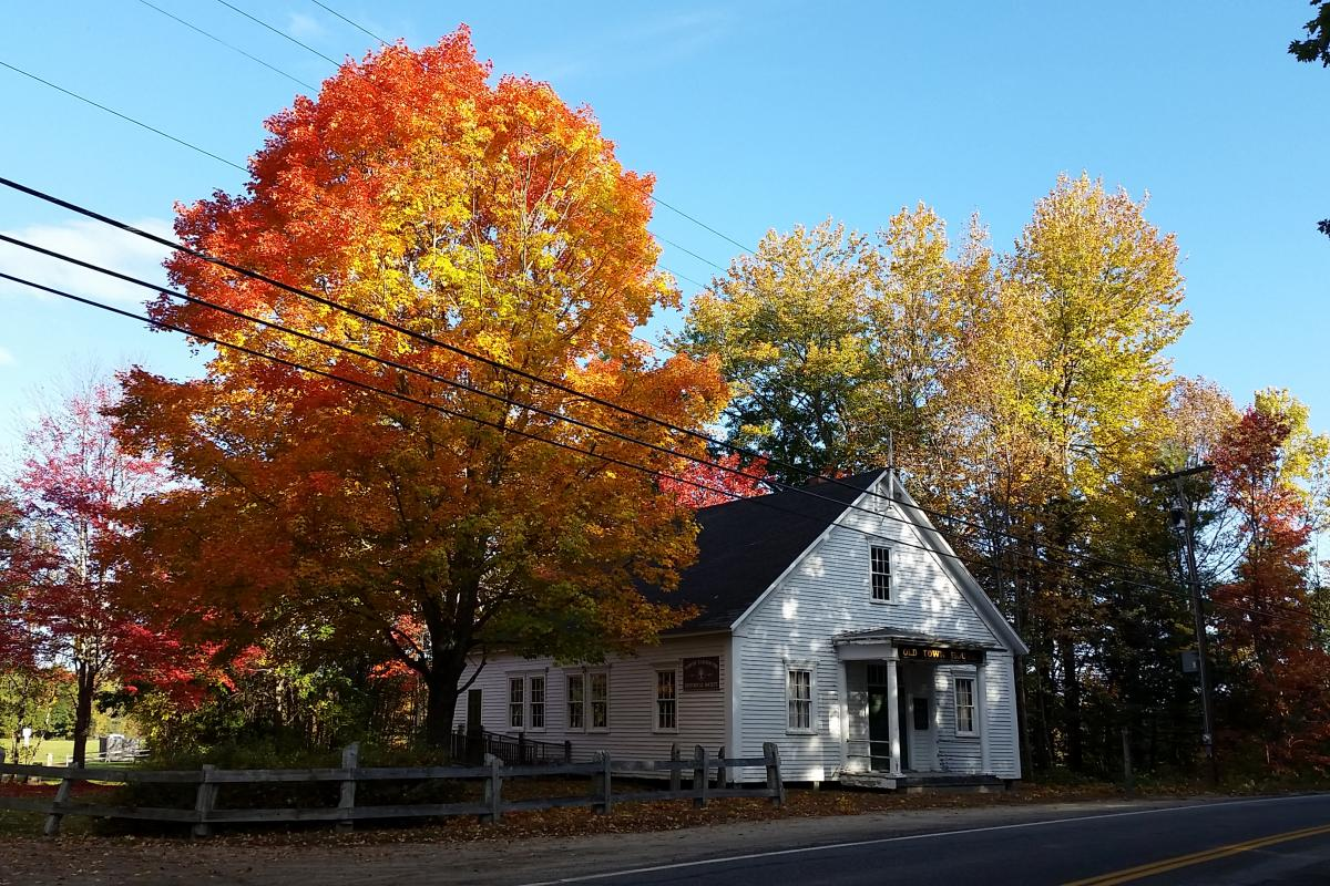 Old Town House - original location on Route 9