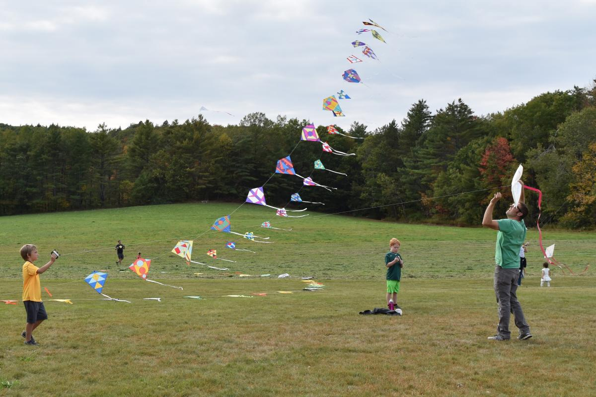 Annual Kite Festival at Old Town House Park