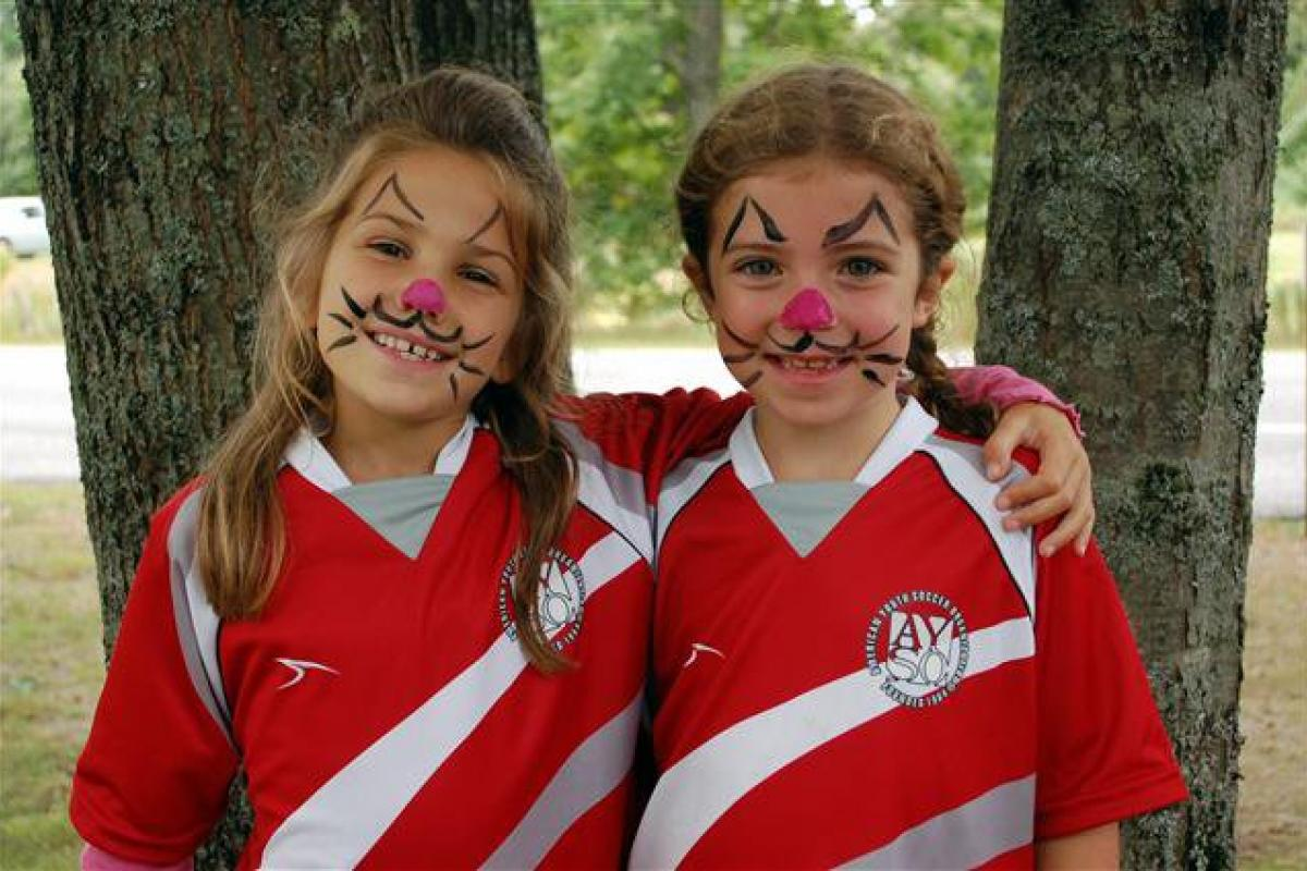 Face Painting at the Annual Fun Day