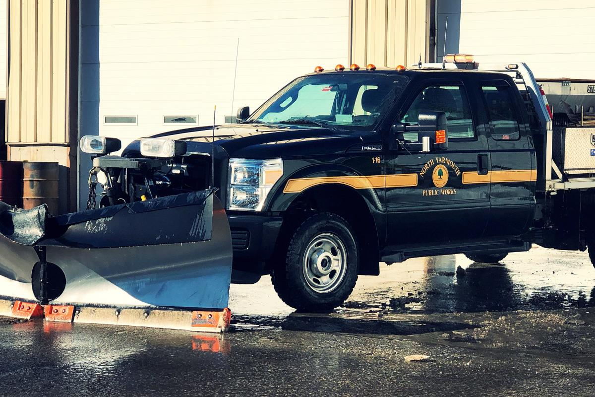 Public Works Director's truck