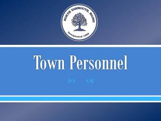Town Personnel