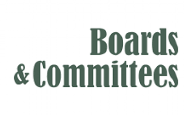 Town Boards and Committees